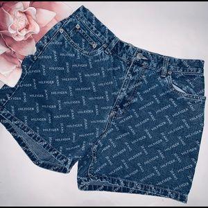 Tommy Hilfiger High Waist Jean Shorts